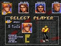 Streets of Rage 3, capture d'écran