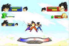 Dragon Ball Z - The Legend, capture d'écran