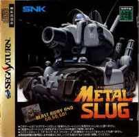 Photo de la boite de Metal Slug