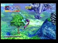 Nights Into Dreams, capture d'écran