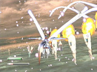 une photo d'écran de Panzer Dragoon 2 - Zwei sur Sega Saturn