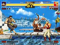 The King of Fighters 95, capture décran
