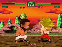 une photo d'écran de Virtua Fighter Kids sur Sega Saturn