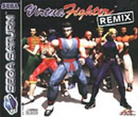 Photo de la boite de Virtua Fighter Remix