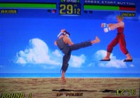 Virtua Fighter Remix, capture d'écran