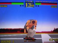 Virtua Fighter Remix sur Sega Saturn