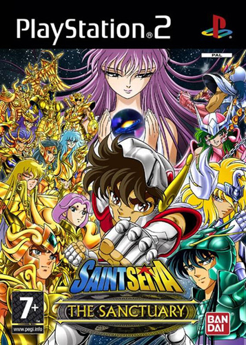 Photo de la boite de Saint Seiya - Le Sanctuaire