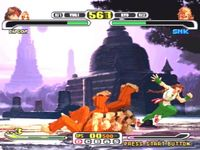 Capcom VS SNK Pro, capture d'écran