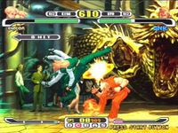 Capcom VS SNK Pro sur Sony Playstation