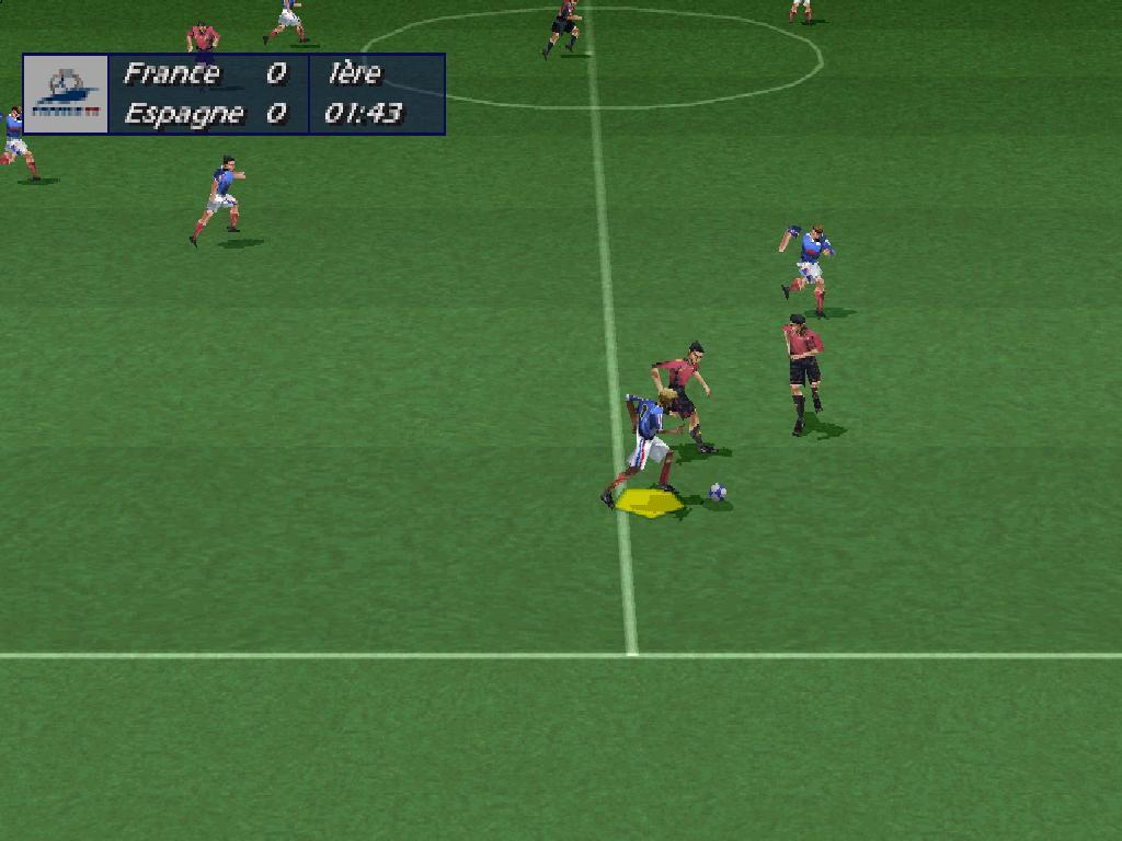 Images de coupe du monde 98 sur sony playstation captures d 39 cran de coupe du monde 98 sur sony - Joueur coupe du monde 98 ...