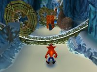 une photo d'écran de Crash Bandicoot 2 sur Sony Playstation