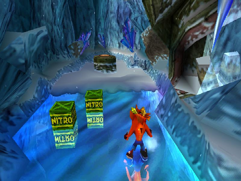 une photo d'�cran de Crash Bandicoot 2 sur Sony Playstation