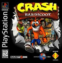 Photo de la boite de Crash Bandicoot