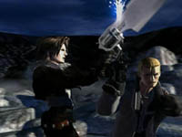 une photo d'écran de Final Fantasy 8 sur Sony Playstation
