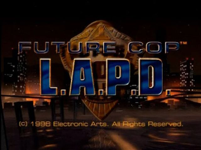 une photo d'écran de Future Cop LAPD sur Sony Playstation