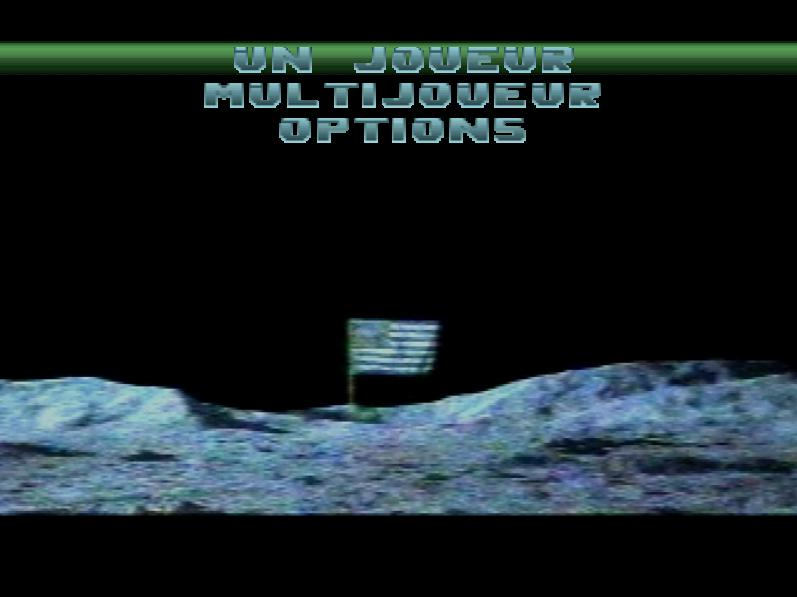 une photo d'écran de Independence Day sur Sony Playstation