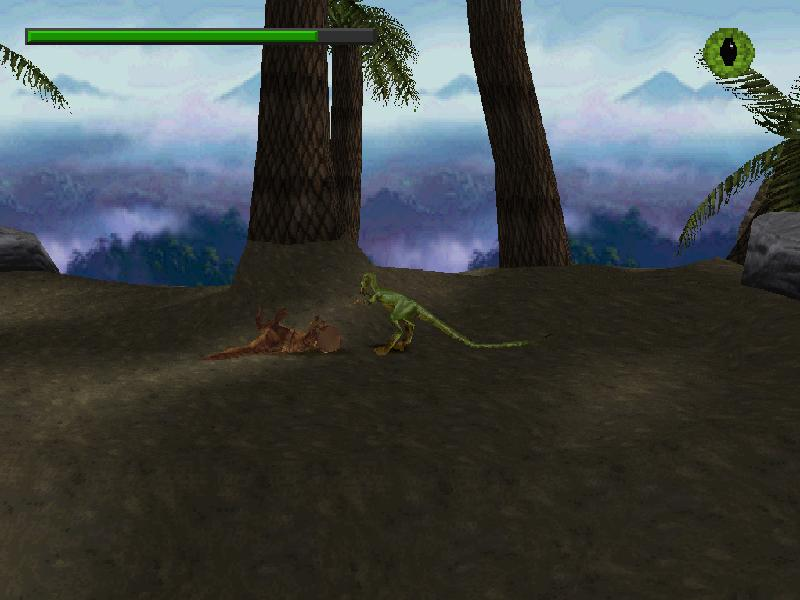 une photo d'�cran de Le Monde Perdu - Jurassic Park sur Sony Playstation