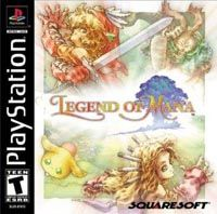 Photo de la boite de Legend of Mana