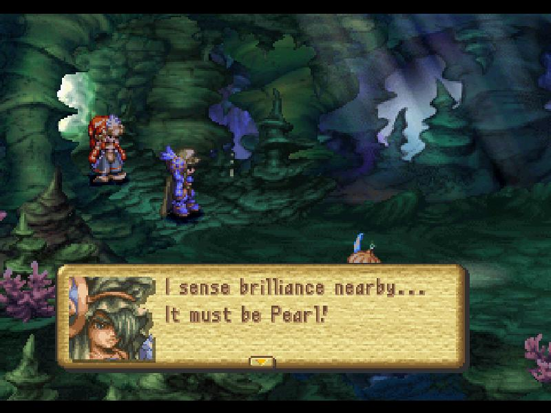 une photo d'�cran de Legend of Mana sur Sony Playstation