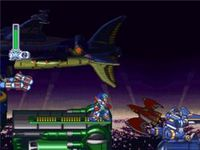 Mega Man X-4, capture d'écran
