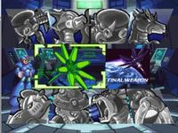 Mega Man X-4 sur Sony Playstation
