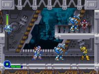 une photo d'écran de Mega Man X-5 sur Sony Playstation