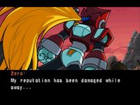 Mega Man X-6, capture décran