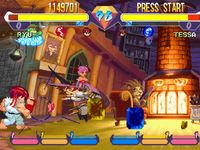 une photo d'�cran de Pocket Fighter sur Sony Playstation