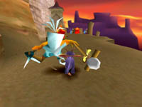 Spyro le Dragon, capture d'écran