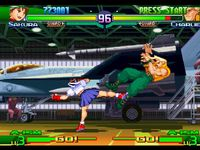 une photo d'�cran de Street Fighter Alpha 3 sur Sony Playstation