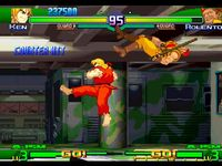 Street Fighter Alpha 3, capture d'écran