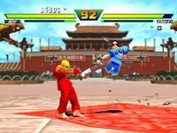 une photo d'�cran de Street Fighter EX plus Alpha sur Sony Playstation