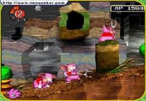 une photo d'écran de Tombi sur Sony Playstation