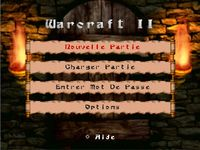 Warcraft 2 - The Dark Saga, capture décran