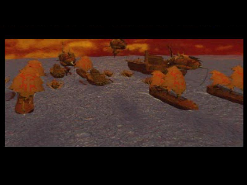 une photo d'�cran de Warcraft 2 - The Dark Saga sur Sony Playstation