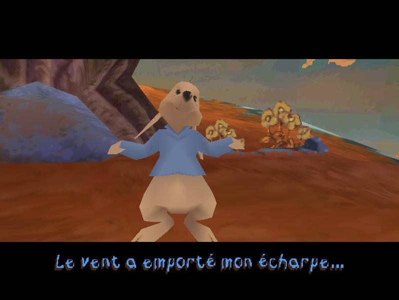 une photo d'écran de Winnie l Ourson - La chasse au miel de Tigrou sur Sony Playstation