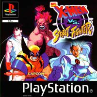 Photo de la boite de X-Men VS Street Fighter