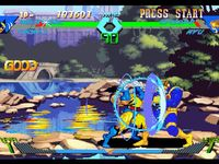 X-Men VS Street Fighter sur Sony Playstation