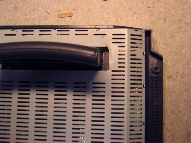 Uma imagem da placa de material Atari Jaguar