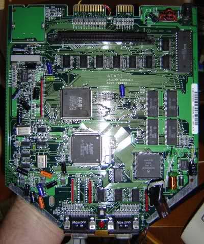 uma imagem de Atari Jaguar Interior